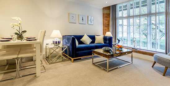 Show apartments at Rowntrees Wharf