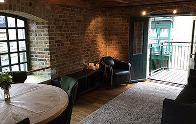 Furnishing Of a London Warehouse Apartment